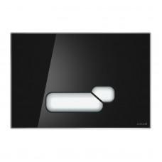 Кнопка для инсталляции Cersanit Actis черный глянцевый