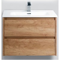 Тумба с раковиной BelBagno Kraft 700-2C-SO-RNN Rovere Nebrasca Nature
