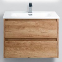 Тумба с раковиной BelBagno Kraft 800-2C-SO-RNN Rovere Nebrasca Nature