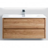 Тумба с раковиной BelBagno Kraft 1000-2C-SO-RNN Rovere Nebrasca Nature