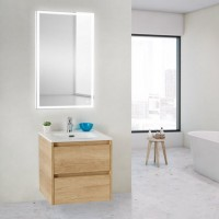 Мебель для ванной BelBagno Kraft 39-500/390-2C-SO-RNN Rovere Nebrasca Nature
