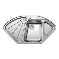Кухонная мойка Blanco Delta-IF полированная сталь