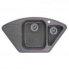Кухонная мойка Granula GR-9101 890х490 графит