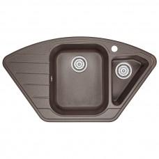 Кухонная мойка Granula GR-9101 890х490 эспрессо