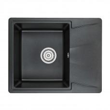 Кухонная мойка Granula GR-6201 620х500 черный