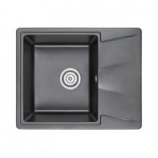 Кухонная мойка Granula GR-6201 620х500 шварц