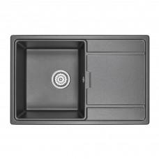 Кухонная мойка Granula GR-7804 780х500 черный