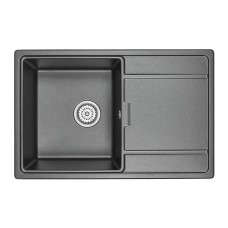 Кухонная мойка Granula GR-7804 780х500 шварц