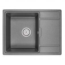 Кухонная мойка Granula GR-6503 650х500 черный