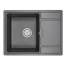 Кухонная мойка Granula GR-6503 650х500 шварц