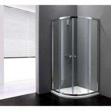 Душевой уголок Cezares Anima R2 100 матовое стекло, профиль хром