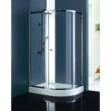 Душевой уголок Cezares ANIMA W RH 1 120/90 P Cr матовое стекло, профиль хром