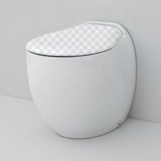 Приставной унитаз ArtCeram Blend BLV002 (белый) без сидения без сидения
