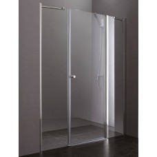 Душевая дверь Cezares Elena B13 30/60/50 P Cr R матовое стекло, профиль хром правая