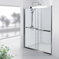 Душевая дверь Aquanet Delta NPD6122 140, прозрачное стекло