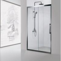 Душевая дверь Aquanet Delta NPE6121 140, прозрачное стекло