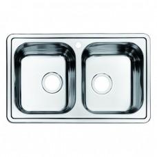 Кухонная мойка Iddis Strit S STR78P2i77 полированная