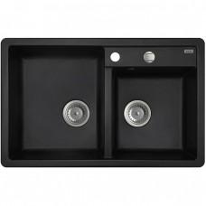 Кухонная мойка Iddis Vane G V21B782i87 черная