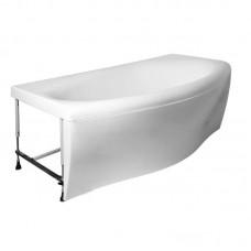 Акриловая ванна Marka One Nega 170х95 без гидромассажа