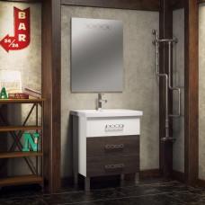 Комплект мебели Smile Боско 70 белый/винтаж (темный)
