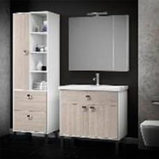 Комплект мебели Smile Квинта 70 белый/орегано (светлый)