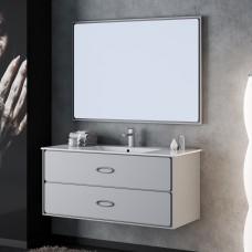 Комплект мебели Smile Монтэ 120 светло-серый