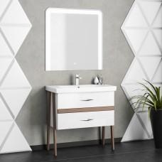 Комплект мебели Smile Флоридо 85 белый/светлый орех