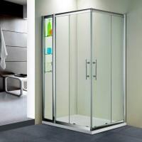 Душевой уголок RGW HO-43 (HO-31+Z-42) 100х130х195 стекло прозрачное