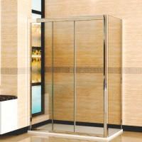 Душевой уголок RGW CL-40 (CL-11+Z-12) 125х70х185 стекло прозрачное
