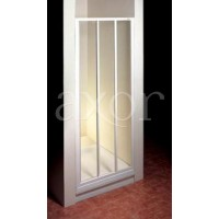 Душевая дверь Ravak ASDP3 130 белый профиль, матовое стекло