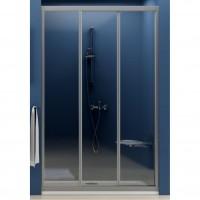 Душевая дверь Ravak ASDP3 130 белый профиль, прозрачное стекло