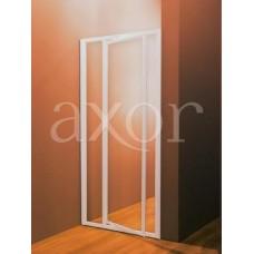 Душевая дверь Ravak SDOP 100 белая+Грапе (белый профиль, матовое стекло)