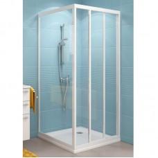 Душевая стенка Ravak PSS 75 белая+Транспарент (белый профиль, прозрачное стекло)