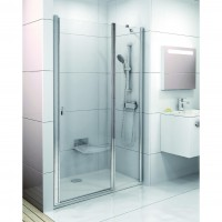 Душевая дверь Ravak CSD2 120 сатин+стекло Transparent