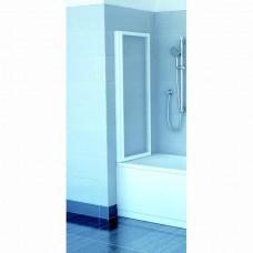 Шторка для ванны Ravak VS2 105 белый профиль, полистирол