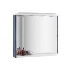 Зеркало с полкой Ravak M 78 L оникс/белый