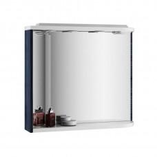 Зеркало с полкой Ravak M 78 R оникс/белый
