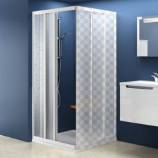 Душевая дверь Ravak ASRV3-90 белый+тpанспаpент