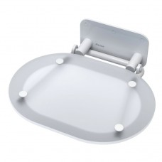 Унивеpсальное сиденье для душа Ravak Chrome B8F0000028 Clear/White