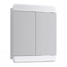 Зеркальный шкаф Aqwella Корсика В7-з белый