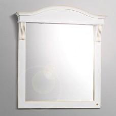Зеркало Belux Каталония В85 (38) белый с патиной