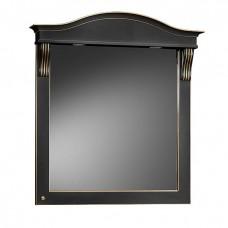 Зеркало Belux Каталония В85 (39) черный/золото