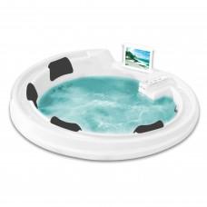 Акриловая ванна Gemy G9090 O White 192x192