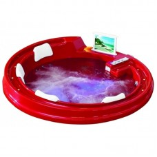 Акриловая ванна Gemy G9090 O Red 192x192