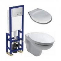 Комплект IDEAL STANDART СЕТ1 (инсталляция+унитаз +сиденье)